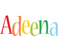 Adeena birthday logo