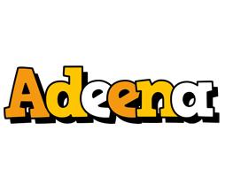 Adeena cartoon logo