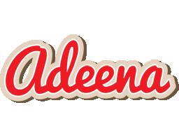 Adeena chocolate logo