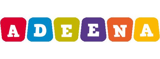 Adeena daycare logo