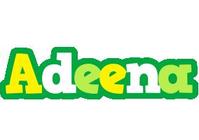 Adeena soccer logo