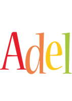 Adel birthday logo