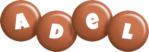 Adel candy-brown logo