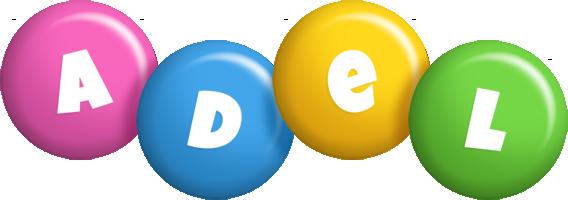 Adel candy logo