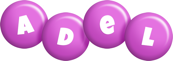Adel candy-purple logo