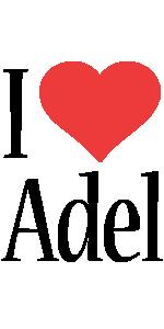 Adel i-love logo