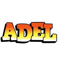 Adel sunset logo