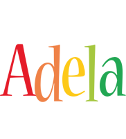 Adela birthday logo