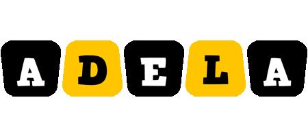Adela boots logo