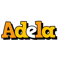 Adela cartoon logo