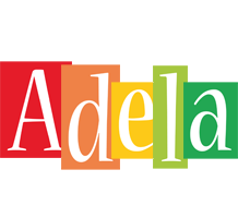 Adela colors logo