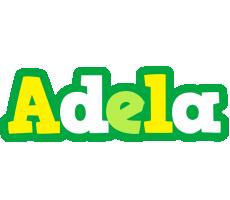Adela soccer logo