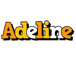 Adeline cartoon logo