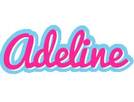 Adeline popstar logo