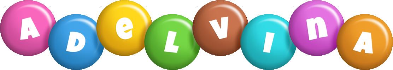 Adelvina candy logo