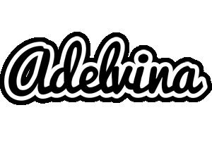 Adelvina chess logo