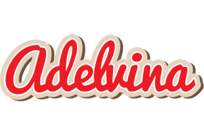 Adelvina chocolate logo