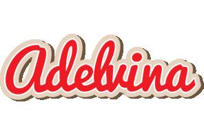 Adelvina chocolate logo