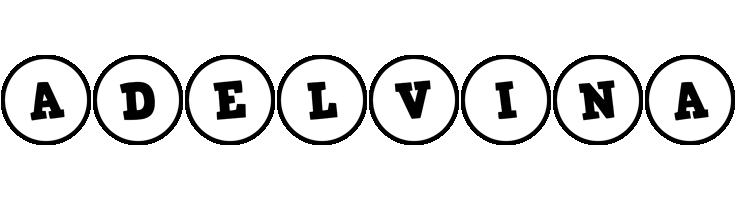 Adelvina handy logo