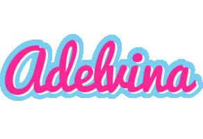 Adelvina popstar logo