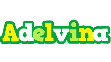 Adelvina soccer logo