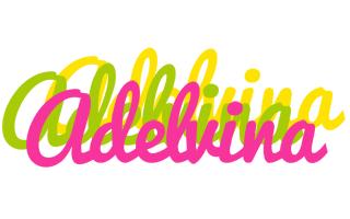 Adelvina sweets logo