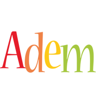 Adem birthday logo