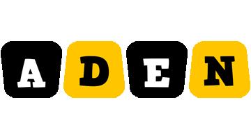 Aden boots logo