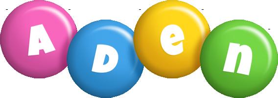 Aden candy logo