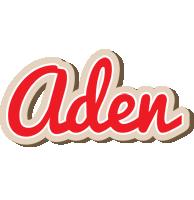 Aden chocolate logo