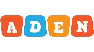 Aden comics logo