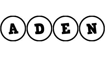 Aden handy logo