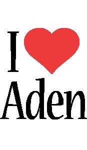 Aden i-love logo