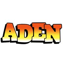 Aden sunset logo