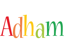 Adham birthday logo