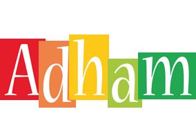 Adham colors logo
