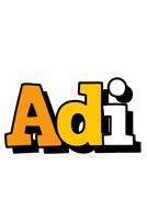 Adi cartoon logo
