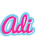 Adi popstar logo