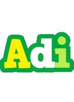 Adi soccer logo