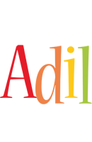 Adil birthday logo