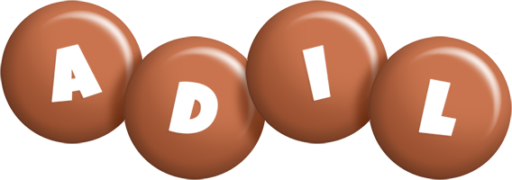 Adil candy-brown logo