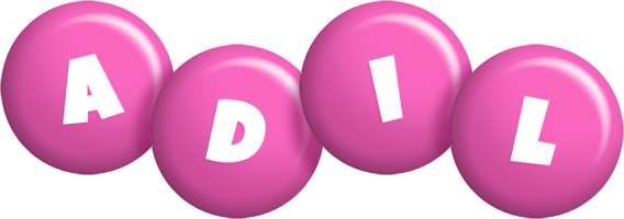 Adil candy-pink logo