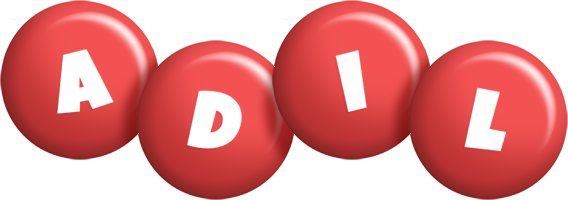 Adil candy-red logo