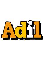 Adil cartoon logo