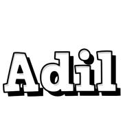 Adil snowing logo