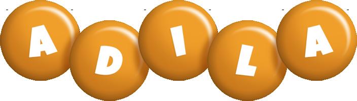 Adila candy-orange logo