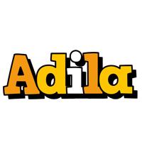 Adila cartoon logo