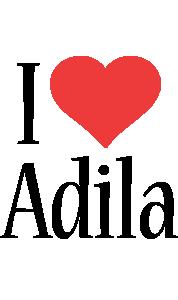 Adila i-love logo
