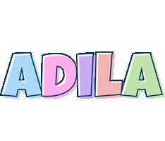 Adila pastel logo