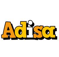 Adisa cartoon logo
